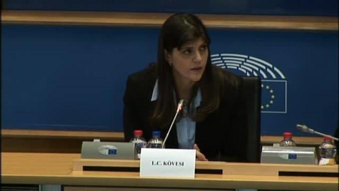 Laura Codruța Kovesi a reacționat, după votul Comisiei LIBE