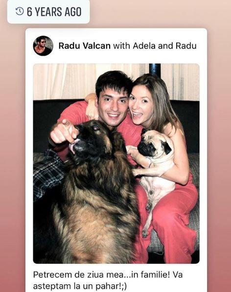 Mesajul Adelei Popescu pentru soțul ei, Radu Vâlcan