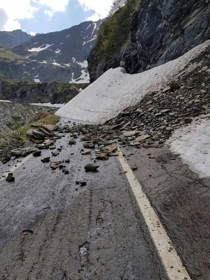Alunecare de teren între Reșița și Bocșa