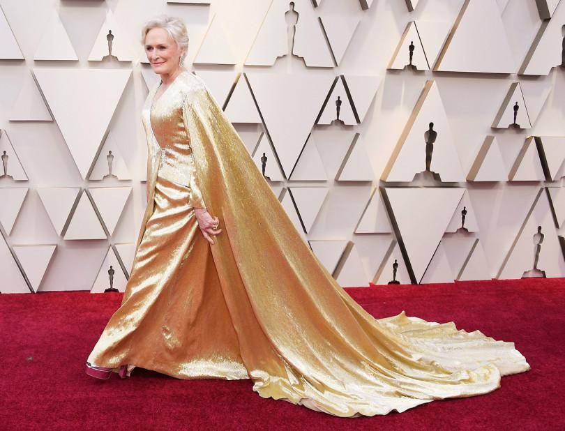 Glenn Close, ghinionista -șefă, la Gala 91 a decernării Premiilor Oscar 2019, februarie, Hollywood