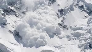 Avalanșă în Munții Călimani!