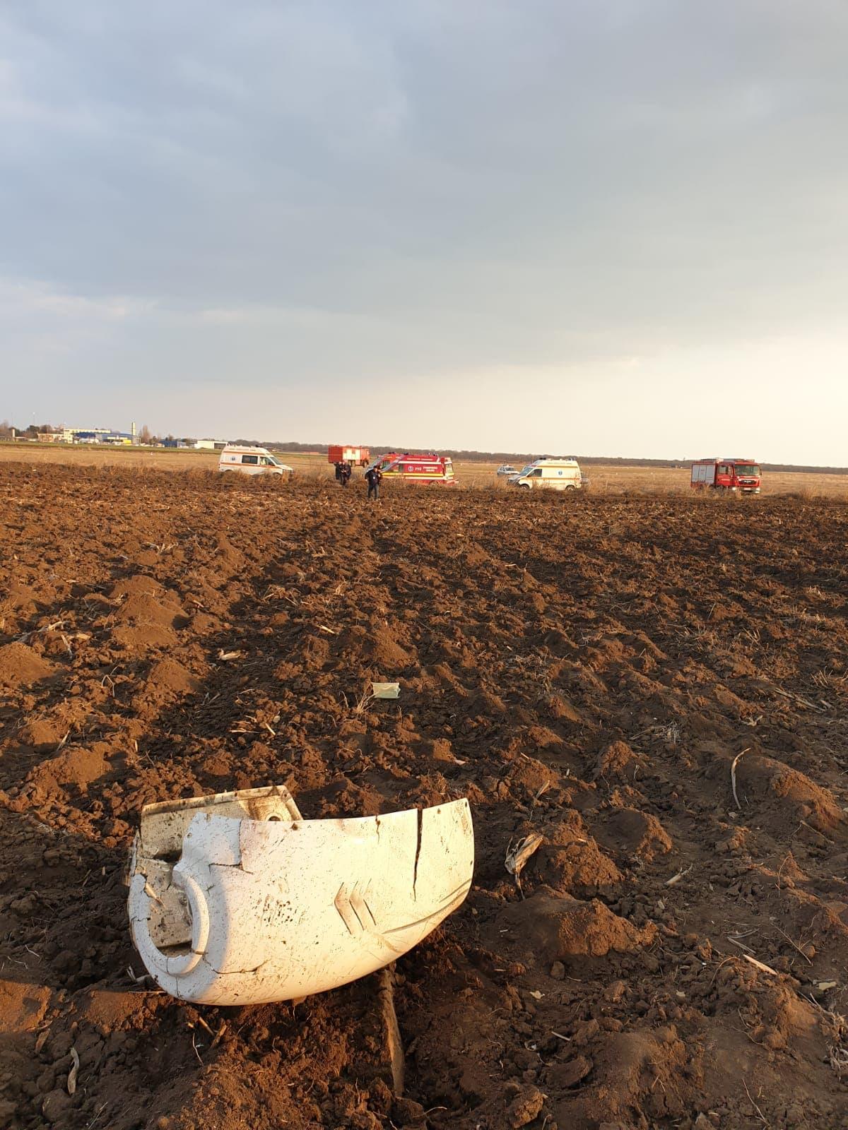 Avionul s-a prăbușit în apropiere de aerodromul Tuzla