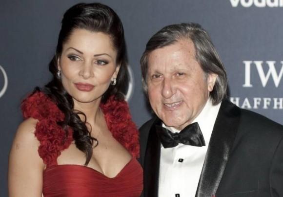 Brigitte Sfăt, alături de fostul soţ, Ilie Năstase