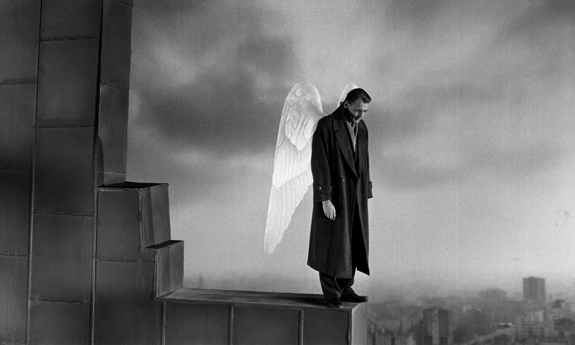 Bruno Ganz (1941-2019) în Wings of Desire