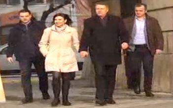 Carmen și Klaus Iohannis au mers la o biserică din Sibiu