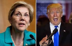 Elizabeth Warren îl atacă pe Donald Trump