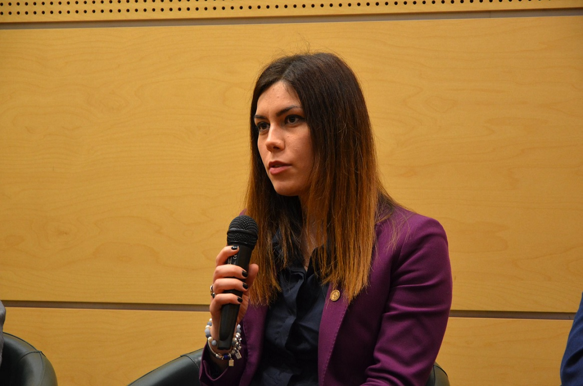 """Cristina Prună în """"exercițiul funcțiuni"""", ca deputat în Parlamentul României. Inițiativele sale sunt foarte apreciate de parlamentari"""