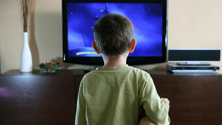Copii la desene animate