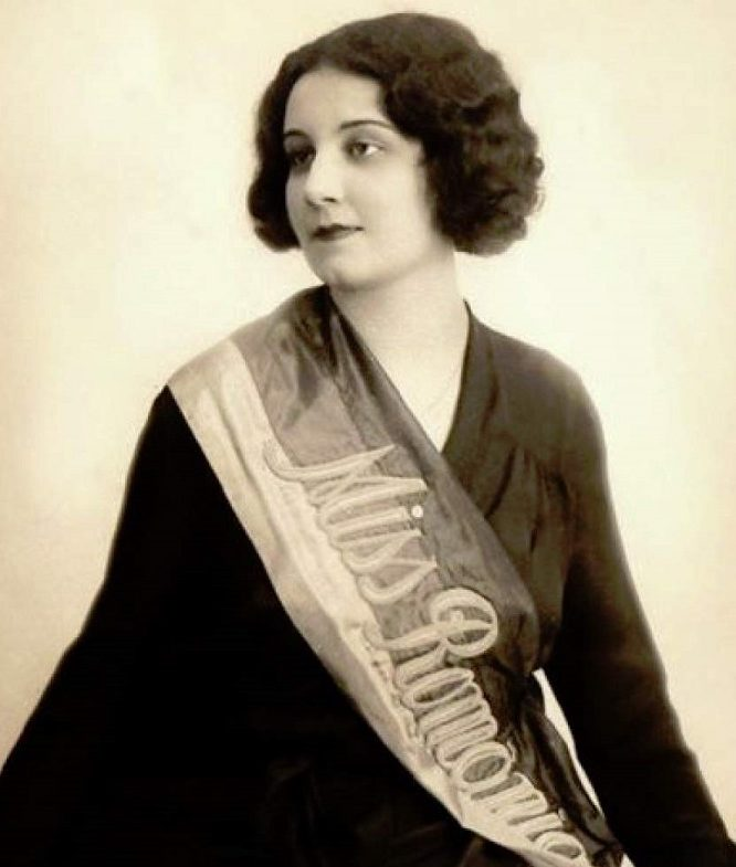 Magda Demetrescu, prima Miss România, avea în 1929 numai 17 ani și era orfană de ambii părinți