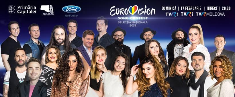 Eurovision România 2019. Cine sunt jurații din marea finală?