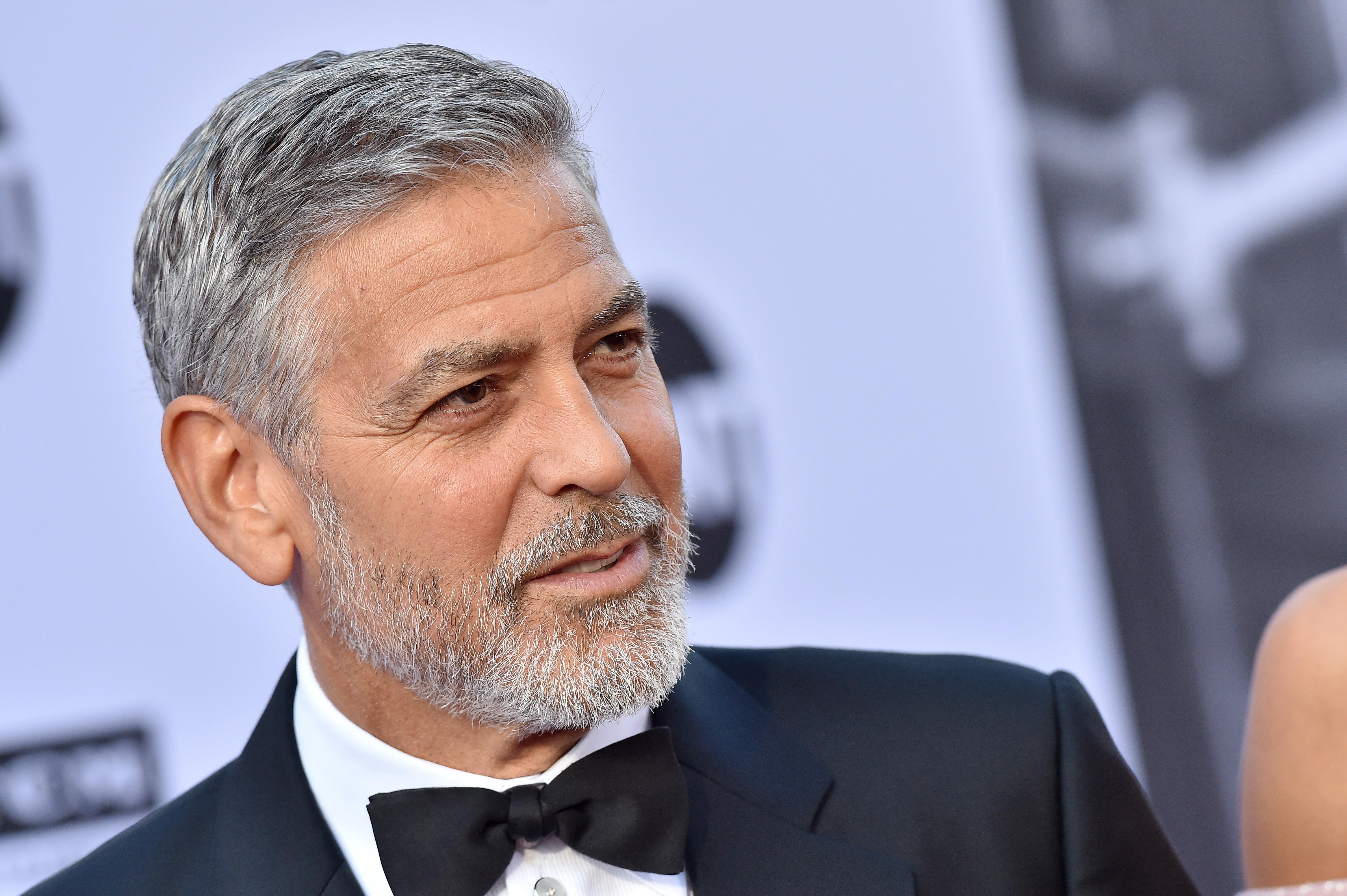 George Clooney este unul dintre actorii care au protestat la Hollywood
