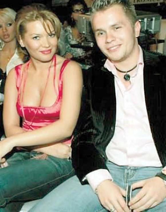 Gina Pistol alături de Codin Maticiuc