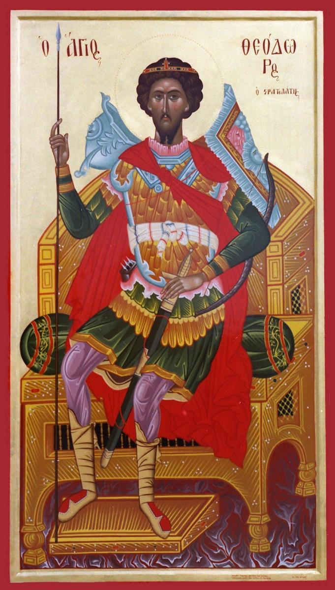 Calendar ortodox 8 februarie: Sfântul Mare Mucenit Teodor Stratilat