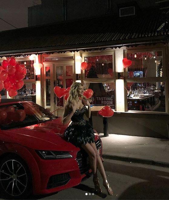 Ioana Boureanu a primit de ziua ei un Audi TT ultimul model