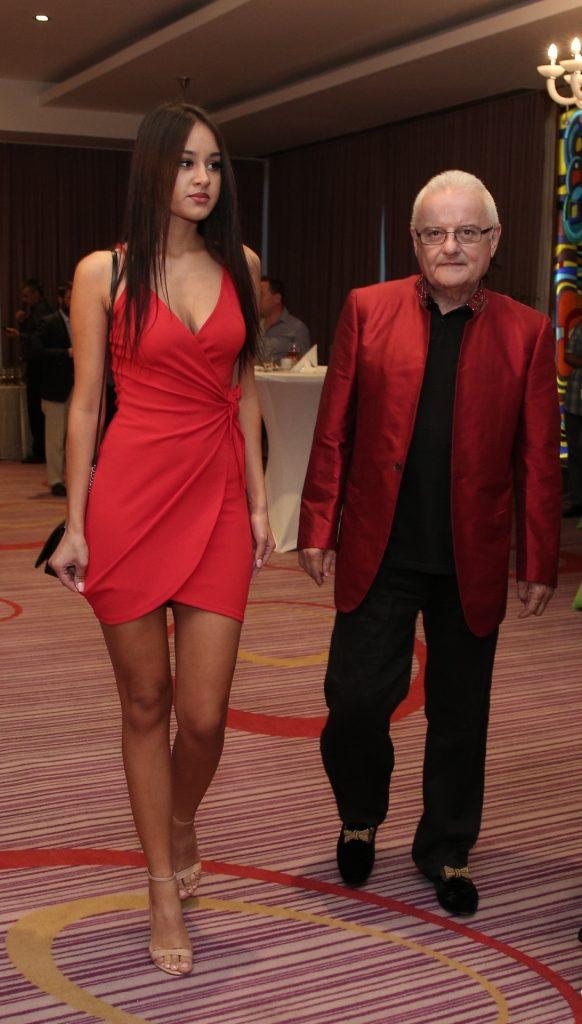 Irinel Columbeanu și iubita lui, Oana Cojocaru