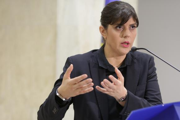 Laura Codruta Kovesi Financial Times