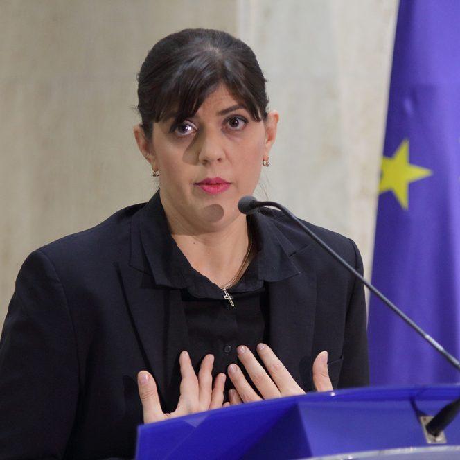 Laura Codruta Kovesi urmarita penal