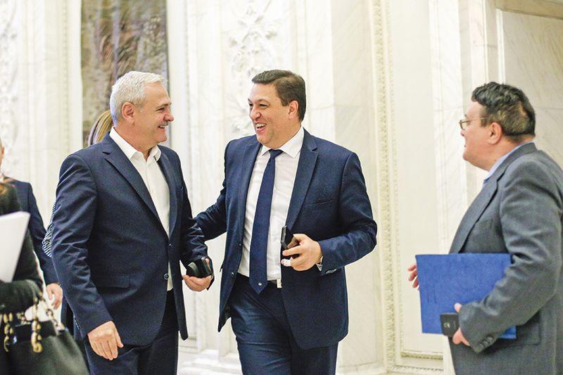 Liviu Dragnea și Șerban Nicolae au depus la Senat proiectul de lege