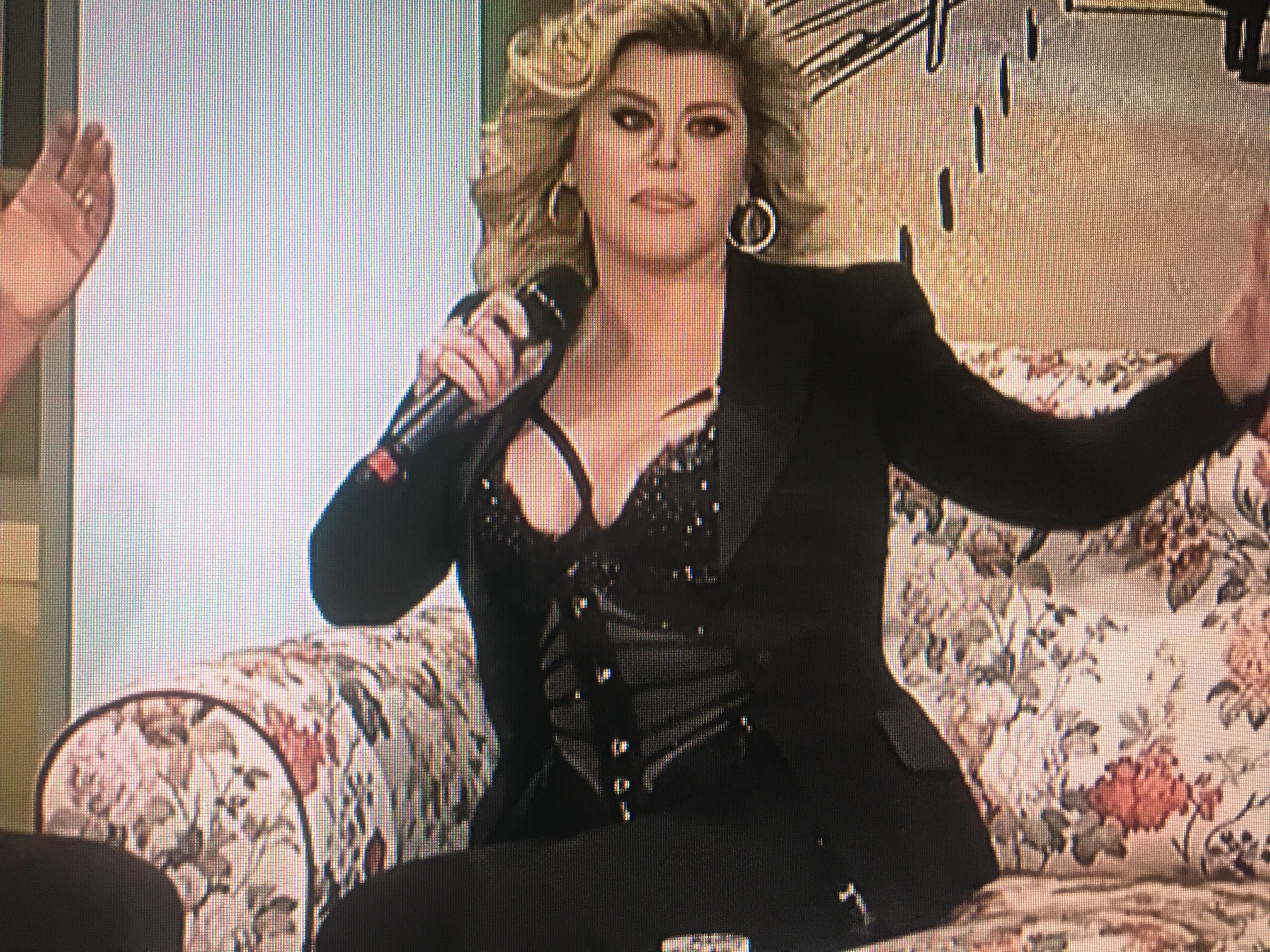 Loredana Groza în emisiunea lui Cătălin Măruță