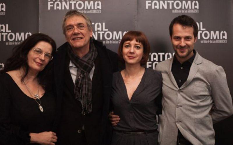 Maria Teslaru alături de alți colegi de breaslă