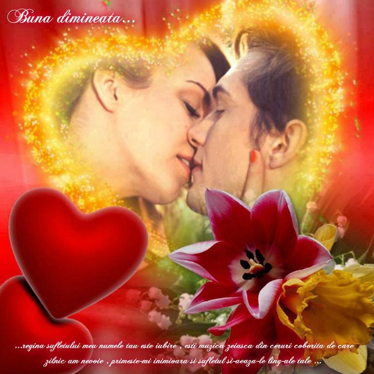 Mesajul de dimineață trebuie să fie clar și concis: iubirea e o taină mare ce leagă două inimi tare! Restul e doar tăcere...