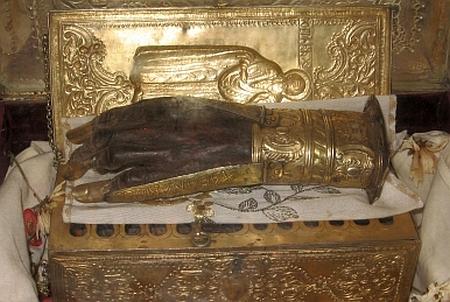 Moaștele Sfântului Mucenic Haralambie