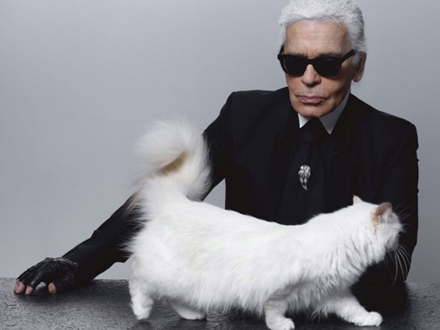 mostenitor Karl Lagerfeld