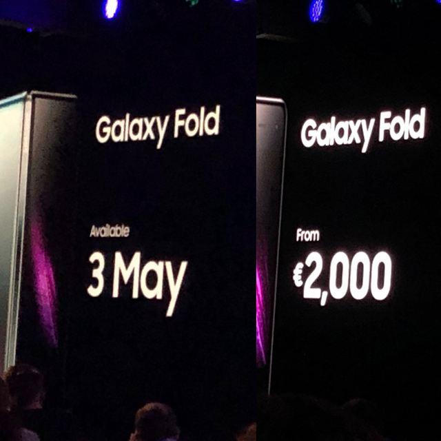 Cum arată noul Samsung Galaxy Fold, telefonul pliabil de la Samsung! Imagini neoficiale