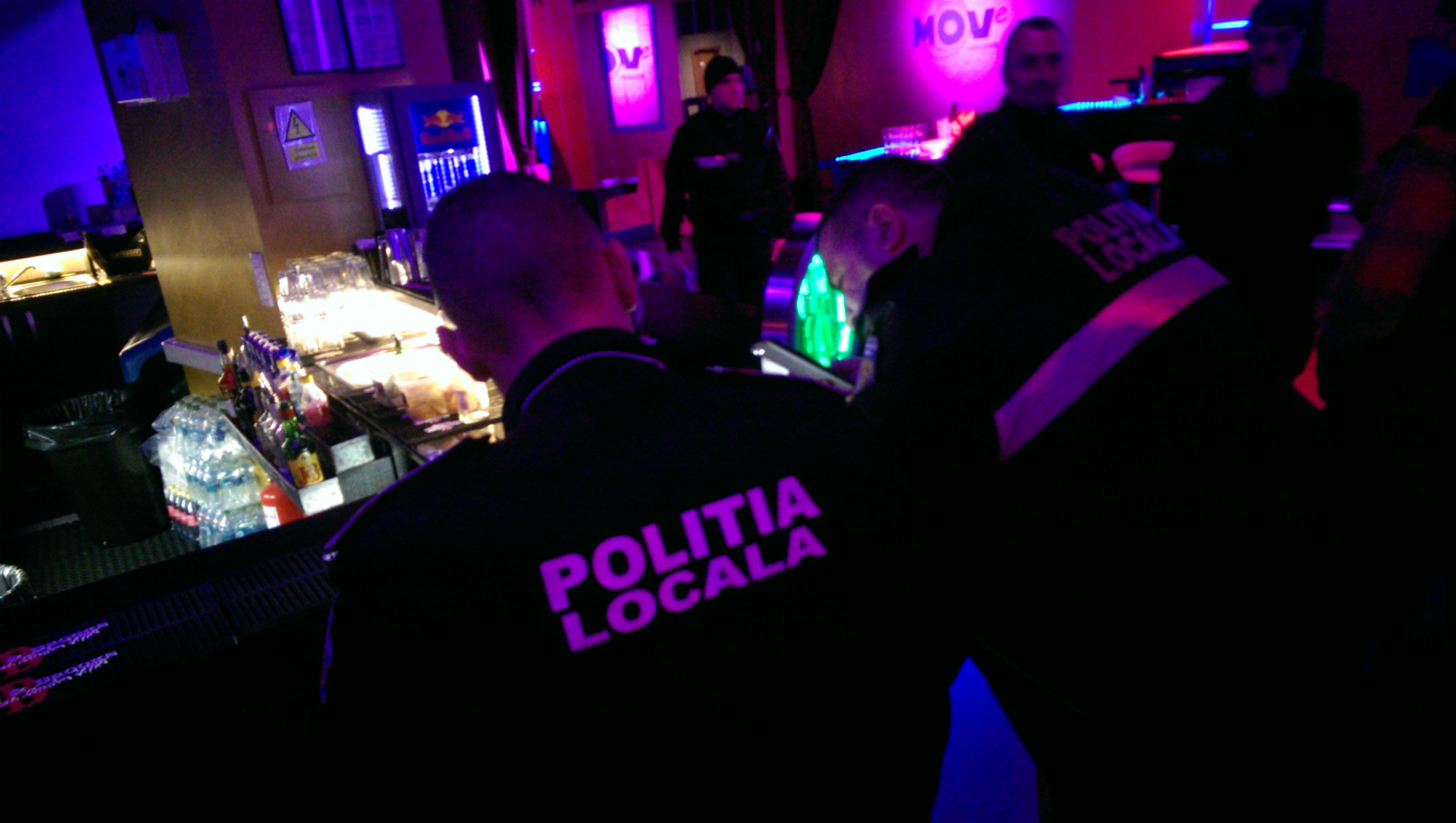 Razie in forță a poliției în cluburile din București. Amendă de 170.750 lei.VIDEO