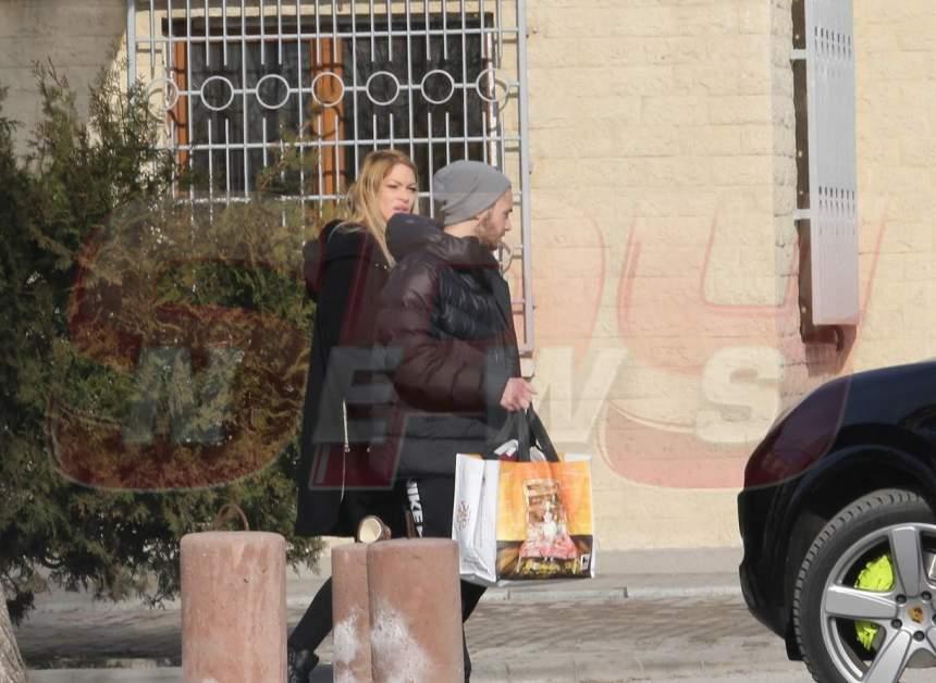 Valentina Pelinel, în vizită la Cristi Borcea! Primele imagini, de la penitenciar