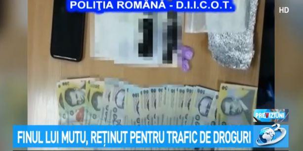 Finul lui Adrian Mutu, reținut pentru trafic de droguri! Ce au descoperit polițiștii
