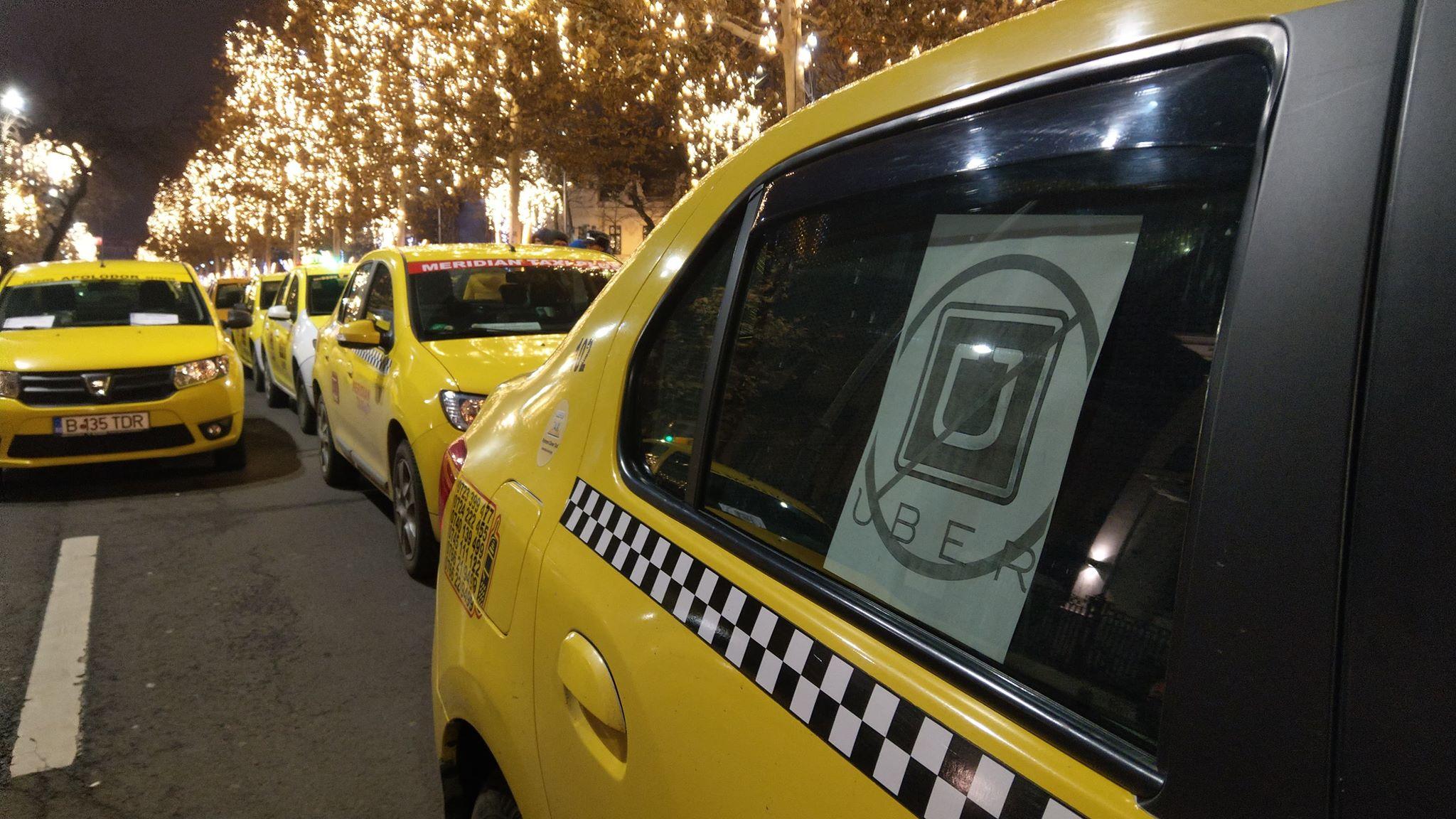 Protest Taximetristi: Protest Al Taximetriștilor, în București! Sondaj: 9 Din 10
