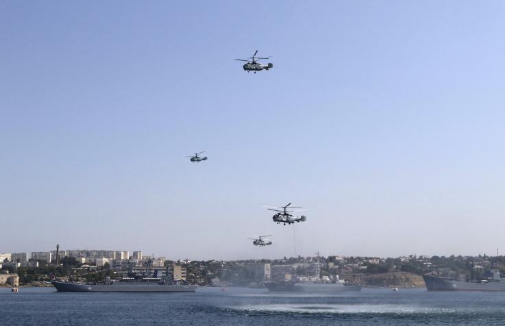 Situația în Marea Neagră s-a tensionat după ce Rusia a anexat Crimeea în 2014