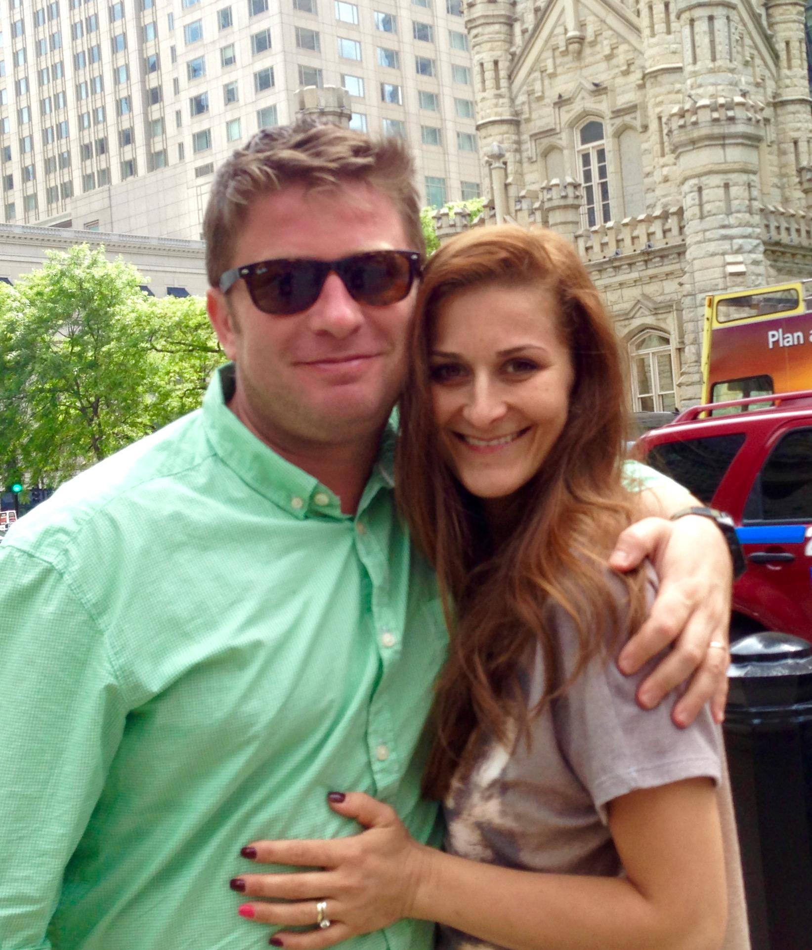 Pavel Bartoș și soția sa, Anca