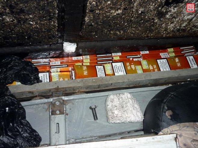 tigari de contrabanda in Trenul Prieteniei