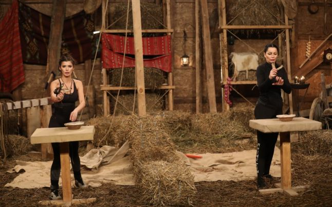 Premieră la Ferma de la PRO TV! Brigitte și Ioana Filimon s-au duelat, însă niciuna nu a plecat acasă