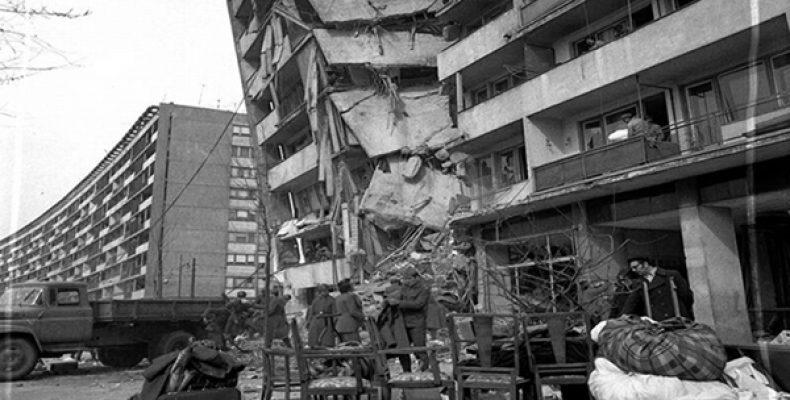Cutremurul din 4 martie 1977 a dărâmat și blocuri construite după anii '60, cum ar fi cel de la intersecția Străzii Lizeanu cu Bulevardul Ștefan cel Mare, demolat apoi în întregime