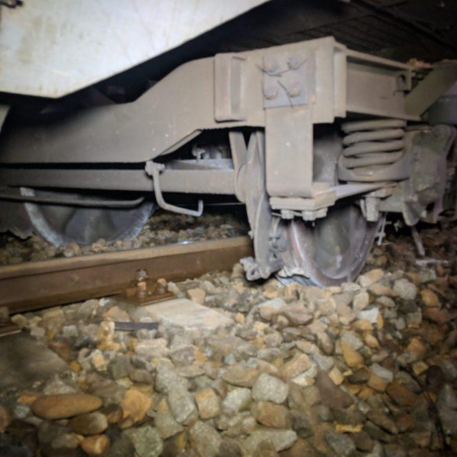 accident feroviar Cosbuc