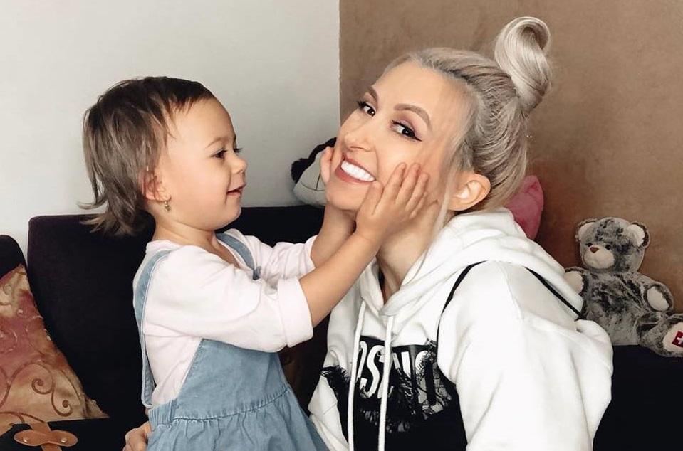 Andreea Bălan și fiica sa, Maya
