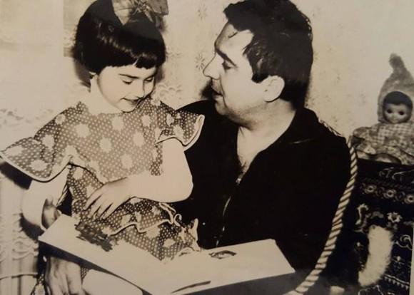 Andreea Marin, alături de tatăl său