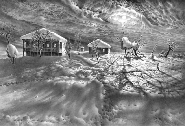 50 De Imagini Cu Desene în Creion Au Fost Realizate Atât De