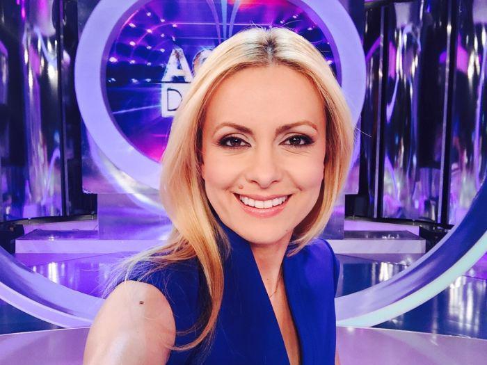 Simona Gherghe intră oficial în concediu prenatal
