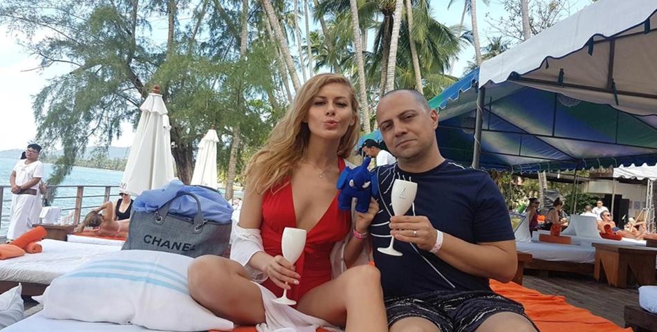 Dan Badea și soția sa, Mădăina, au devenit părinți pentru prima oară