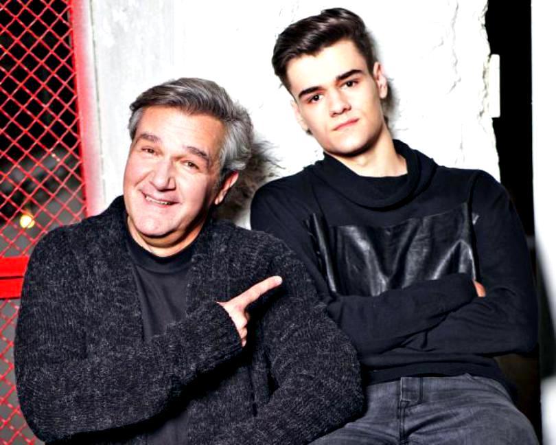 Dan Bittman și fiul lui, Alexandru