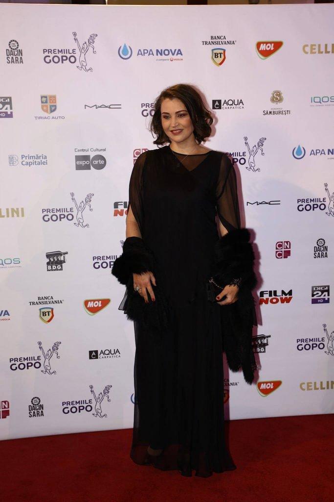 Tranformarea fabuloasă a Danielei Nane! Cum a apărut la premiile Gopo actrița care s-a sărutat cu Mihaela Răduescu