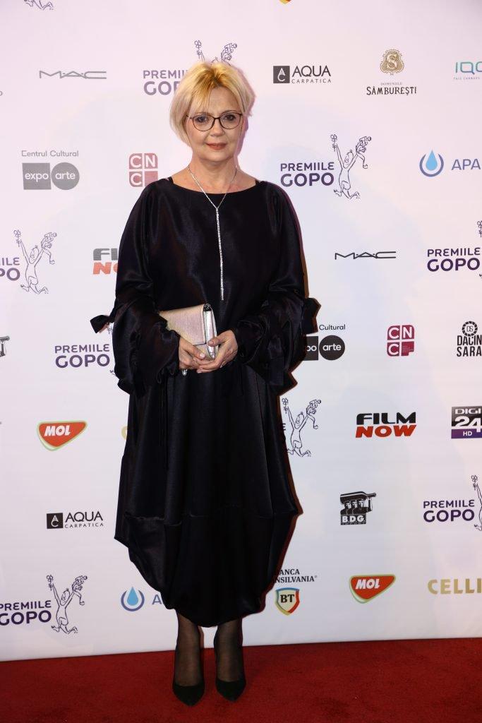 Emilia Popescu a participat la gala de decernare a premiilor Gopo