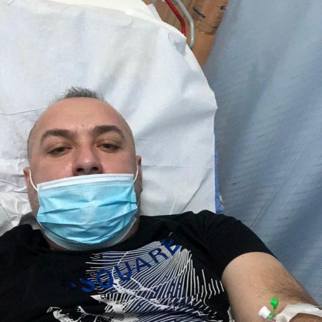 Leo de la Strehaia a suferit un preinfarct
