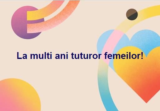 mesaj 8 martie Carmen Iohannis