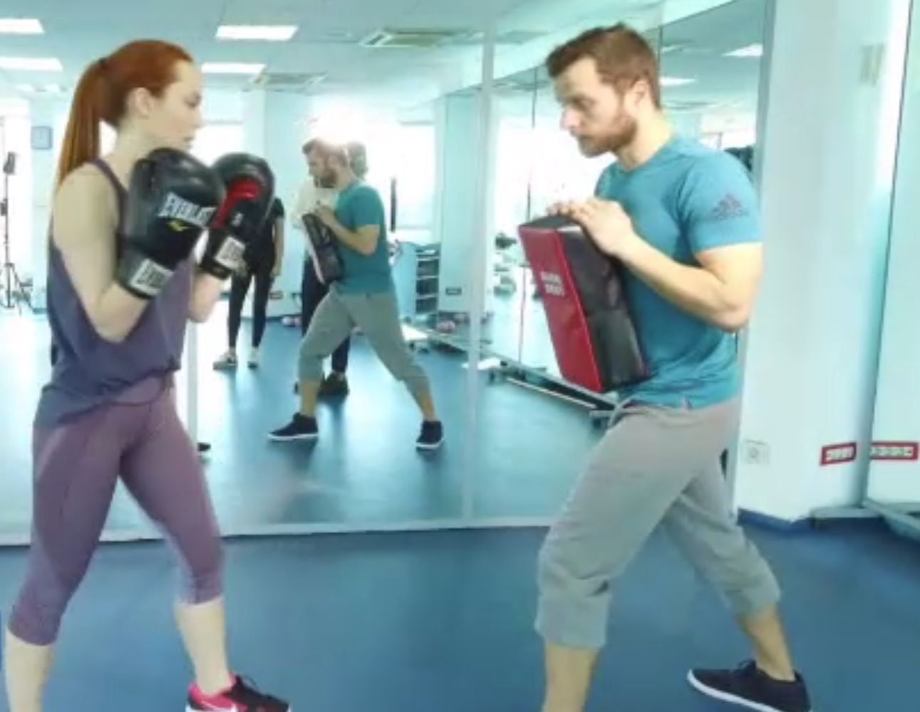 Olimpia Melinte s-a apucat de kickboxing