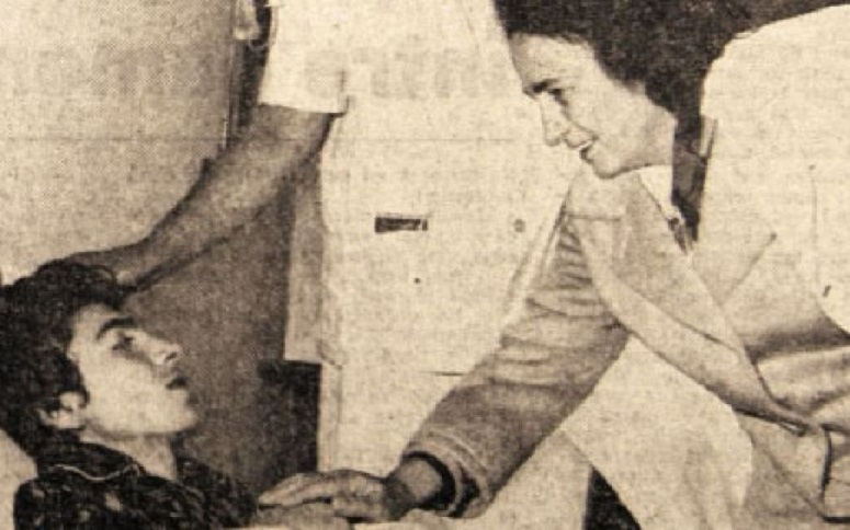 Sorin Crainic a fost vizitat la spital atât de Elena, cât și de Nicolae Ceaușescu după salvarea miraculoasă din subsolul blocului Continental, unde rămăsese blocat de cutremutul din 4 martie 1977
